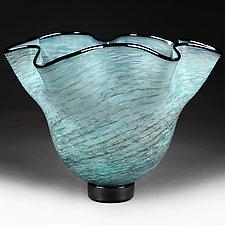 Spiral Sky Studio Sample by Eric Bladholm (Art Glass Bowl)