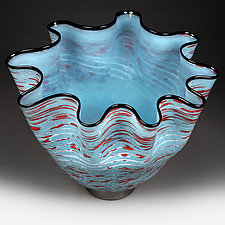 Sonic Sky by Eric Bladholm (Art Glass Vessel)