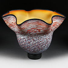 Autumn Ascent by Eric Bladholm (Art Glass Vessel)