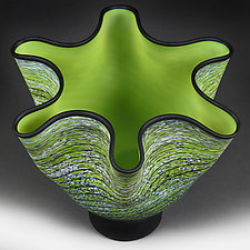 Sprightly Spring by Eric Bladholm (Art Glass Vessel)