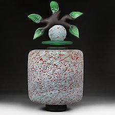 Ornate Orchard Novi Zivot Luksuz (New Life Deluxe) Studio Demo Sample by Eric Bladholm (Art Glass Vessel)
