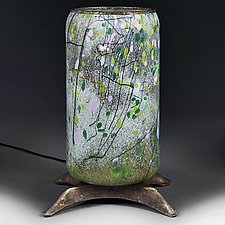 Woodland Wisteria by Eric Bladholm (Art Glass Table Lamp)