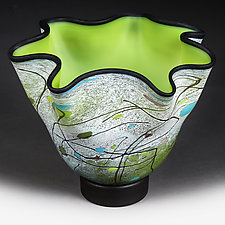 Fanciful Forest by Eric Bladholm (Art Glass Vessel)