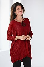 Modern Crushed Silk Tunic by Carol Lee Shanks (Silk Tunic)