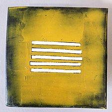 Fifteen, Group Three by Lori Katz (Ceramic Wall Sculpture)