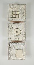 Middle Round by Lori Katz (Ceramic Wall Sculpture)