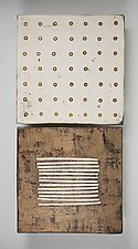 Golden by Lori Katz (Ceramic Wall Sculpture)