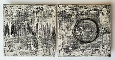 Porcelain Pair by Lori Katz (Ceramic Wall Sculpture)