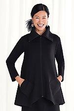 Ponte Sassy Cowl Jacket by F.H. Clothing Co. (Knit Jacket)
