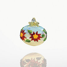 Deck the Halls by Lucky Ducks Glass (Art Glass Ornament)