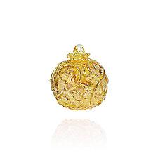Belle Fleur by Lucky Ducks Glass (Art Glass Ornament)