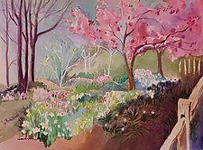 Welcome Spring by Sandra Humphries (Acrylic Painting)