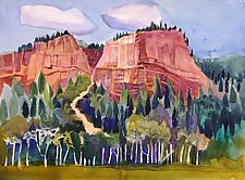 Colorado Trail by Sandra Humphries (Acrylic Painting)