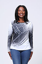 Catalyst Tee by Andrea Geer (Knit Top)