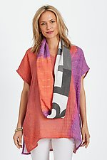 Spark Tunic & Scarf by Andrea Geer (Woven Tunic)
