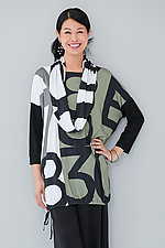 By the Numbers Tunic by Andrea Geer (Knit Tunic)