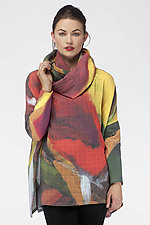 Nova Shirt & Scarf by Andrea Geer (Woven Top)