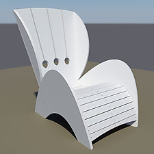 The Nollo Chair by John Nalevanko (Polymer Chair)
