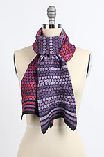 Winter's Ball Scarf by Kristin Gereau  (Silk & Wool Scarf)