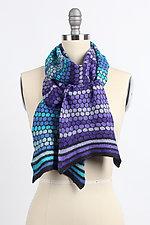 Winter's Ball Scarf by Kristin Gereau (Silk & Wool Scarf)