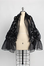 Organza Shrug by Anne Vincent  (Silk & Wool Shrug)