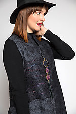 Beaded Vest by Anne Vincent  (Silk and Wool Vest)