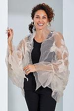 Organza Shrug by Anne Vincent  (Silk & Wool Shrug)