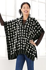 Tufted Cape by Patricia Palson and Molly Penner (Woven Cape)