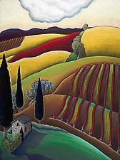 Red Vines by Jane Aukshunas (Giclee Print)