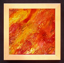 Hot Stuff by Patty Carmody Smith (Mixed-Media Wall Sculpture)