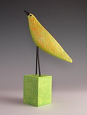 Marigold II by Patty Carmody Smith (Mixed-Media Sculpture)