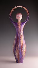 Evangeline by Patty Carmody Smith (Mixed-Media Sculpture)