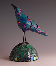 Florinda by Patty Carmody Smith (Art Glass Sculpture)