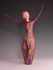 Natasha by Patty Carmody Smith (Mixed-Media Sculpture)