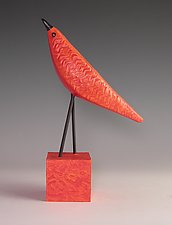 Little Tomato by Patty Carmody Smith (Mixed-Media Sculpture)