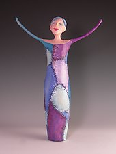 Mended by Patty Carmody Smith (Mixed-Media Sculpture)