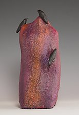 Upstanding by Patty Carmody Smith (Mixed-Media Sculpture)