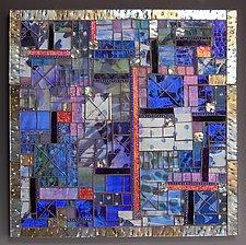 Street Smart by Patty Carmody Smith (Art Glass Wall Sculpture)