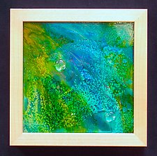 Celestial Sea by Patty Carmody Smith (Mixed-Media Wall Sculpture)