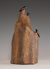 At the Peak by Patty Carmody Smith (Mixed-Media Sculpture)