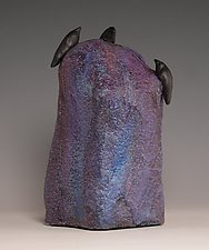Blue Mood by Patty Carmody Smith (Mixed-Media Sculpture)
