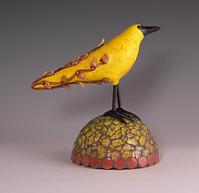 Carmel by Patty Carmody Smith (Art Glass Sculpture)