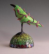 Lana by Patty Carmody Smith (Art Glass Sculpture)
