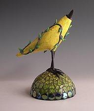 Lindy by Patty Carmody Smith (Art Glass Sculpture)