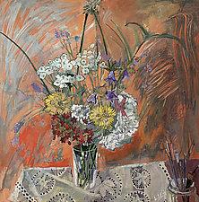 Doily by Lila Bacon (Acrylic Painting)
