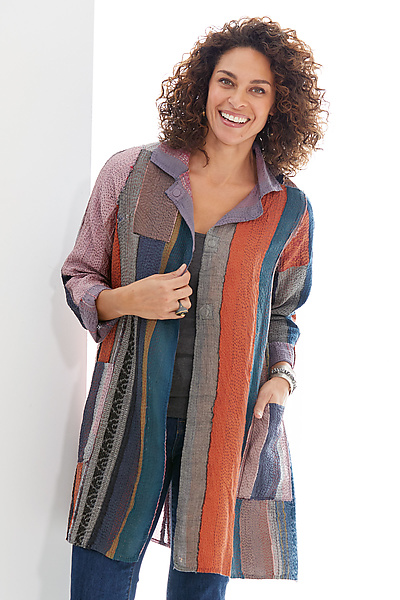 Fray Patch A-Line Duster