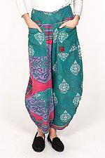 Harem Pant #4 by Mieko Mintz  (Size S (4-8), Cotton Pants)