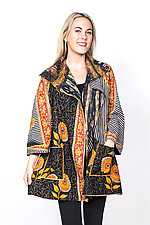 Back Tuck Jacket #4 by Mieko Mintz  (Medium (8-10), Cotton Jacket)