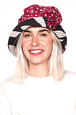 Full Brim Hat #2 by Mieko Mintz  (One Size, Cotton Hat)
