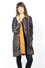 A-Line Duster #1 by Mieko Mintz  (One Size (2-14), Cotton Jacket)